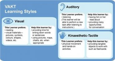 the different learning styles for visual learners